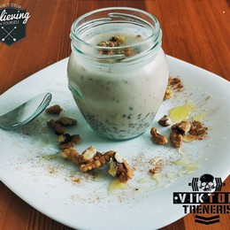 Proteinovy Chia puding...